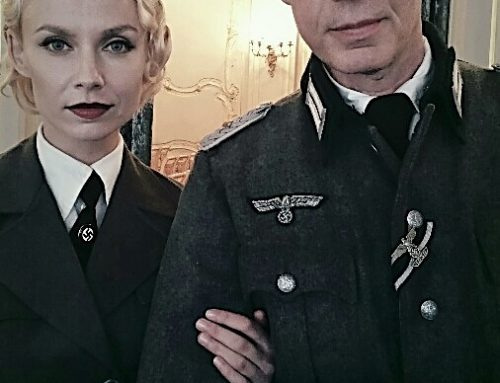 08/2017: Lenfilm Studios St. Petersburg. Playing the Head of german Defense in Russia during WW2.